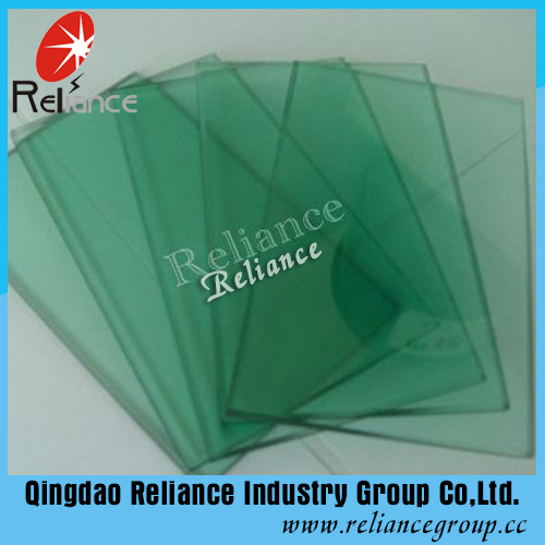 5mm French Green Reflective Glass/ Green One Way Glass / Tinted Reflective Glass/ Build Glass /Window Glass pictures & photos
