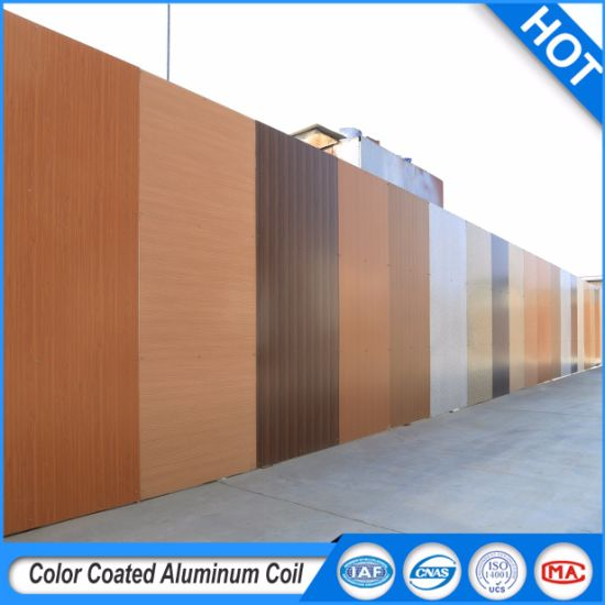 China Color Coated Aluminum Sheet/Coil Metal Roofing Coil 0.02-3.0mm ...