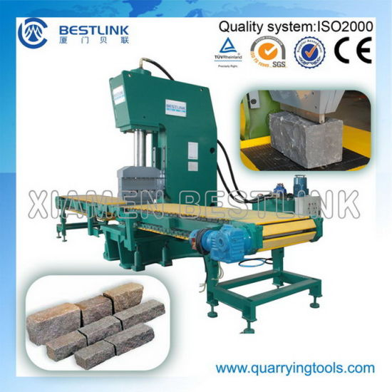 Hydraulic Stone Processing Machine for Cobble Splitting pictures & photos