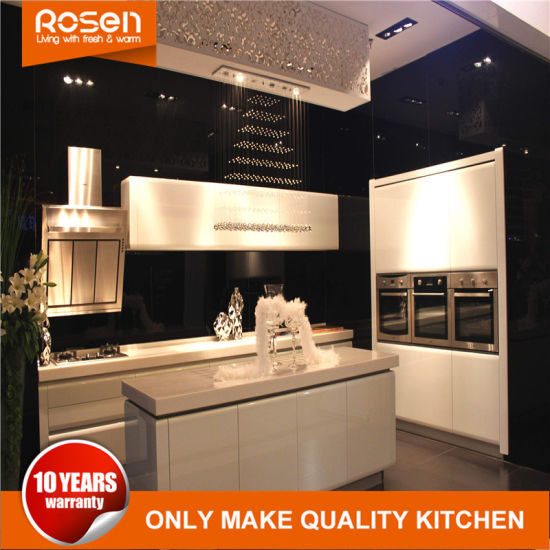 Professional High Gloss Best Spray Painting Kitchen Cabinets Sets