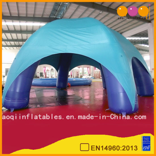 Blue 6-Foot Inflatable Outdoor Beach Tent (AQ5287-4)