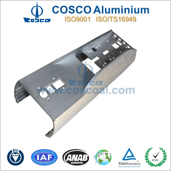 Customized Competitive Aluminum Profile with Anodizing and CNC Machining pictures & photos