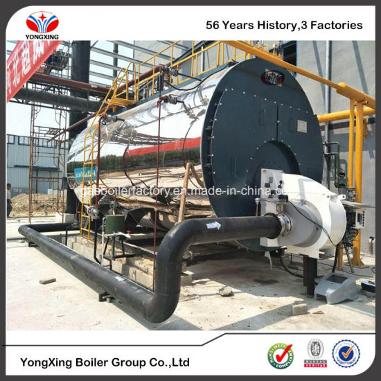 China Gas Fired Hot Water Steam Boiler Single/Double Drum Low ...