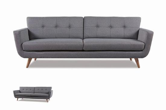 Modern Elegant Home Furniture Living Room 3 Seaters Fabric Sofa Hc105