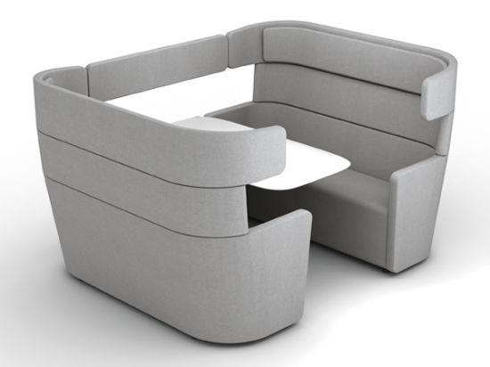 High Quality Office Sofa Informal Meeting Pod Meeting Booth