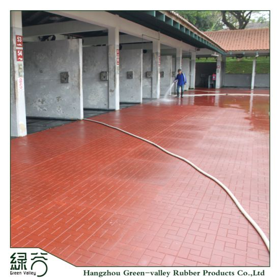 China Factory Customized Colorful Epdm Anti Slip Rubber Flooring