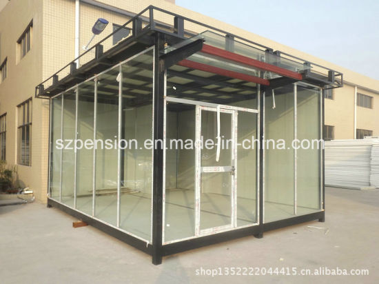 Low Pay Different Types of Mobile Prefabricated/Prefab Guard House for Hot Sale pictures & photos