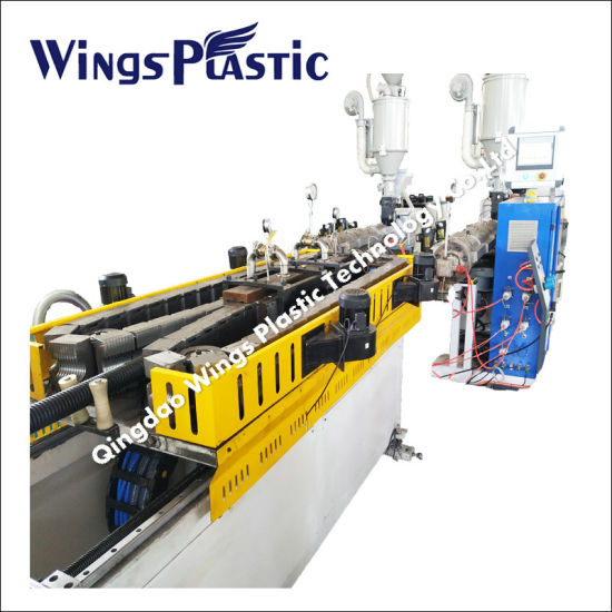 HDPE PVC Double Wall Corrugated Pipe Extrusion Line / Dwc Pipe Making Machine Production Line