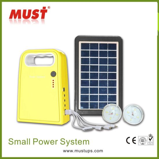 Power Solution Solar Home Lighting Kits for Poor Electricity pictures & photos