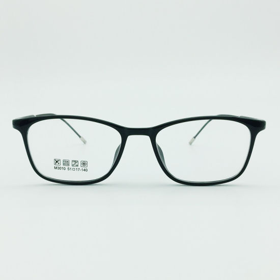 Factory Sell Super Light Half Plastic Steel Fashion New Design Optical Eyewear Eyeglasses Frames pictures & photos