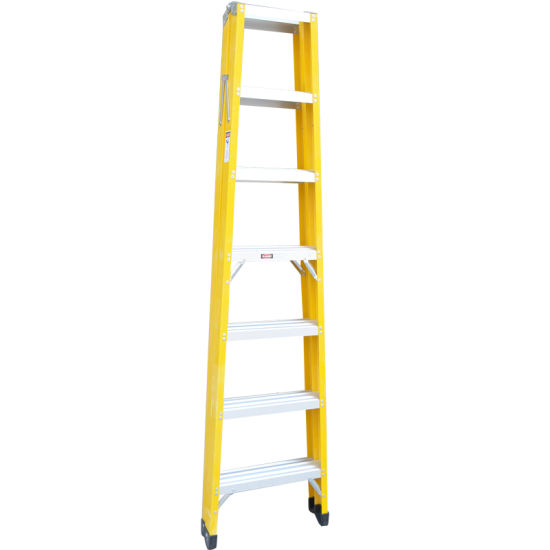Top Safe FRP Foldable Insulation Colorful Step Ladder pictures & photos