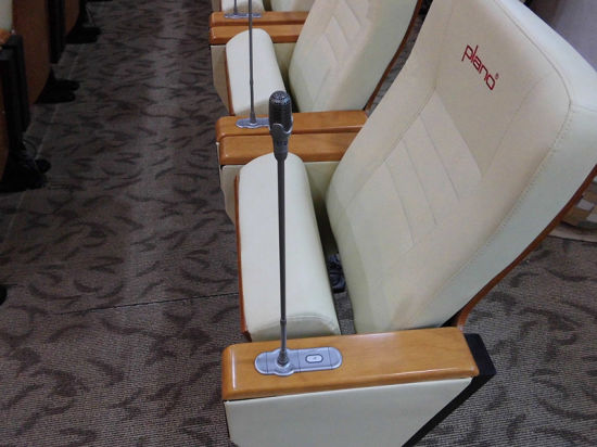 Hongji Built in Microphone System Auditorium Conference Chair pictures & photos