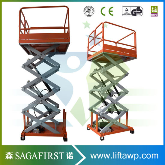Hydraulic Aerial Scissor Table Lift pictures & photos