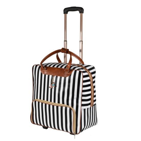 Travel Promotional Fashion Trolley Tote Handbags Wheeled Rolling Bag Luggage pictures & photos