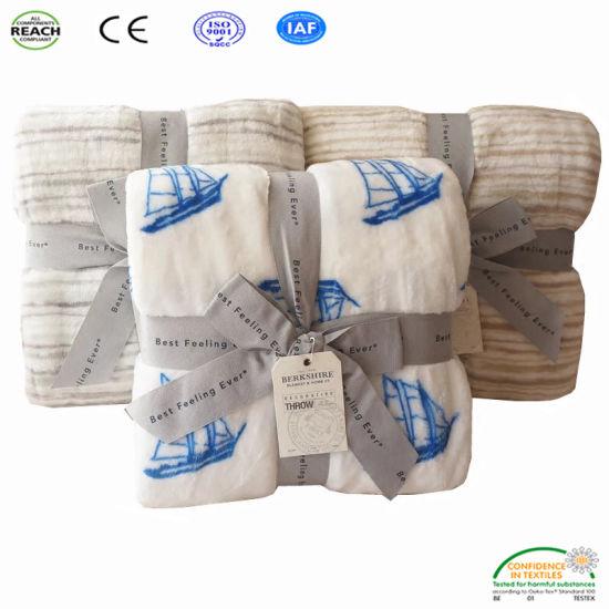 Soft Warm Micro Plush Fleece Blanket Throw Rug Sofa Bedding Baby Blanket 6 Color