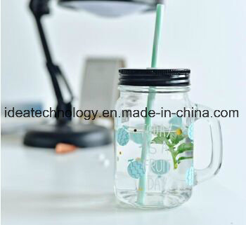 Diamond Transparent Drinking Glass Juice Jar