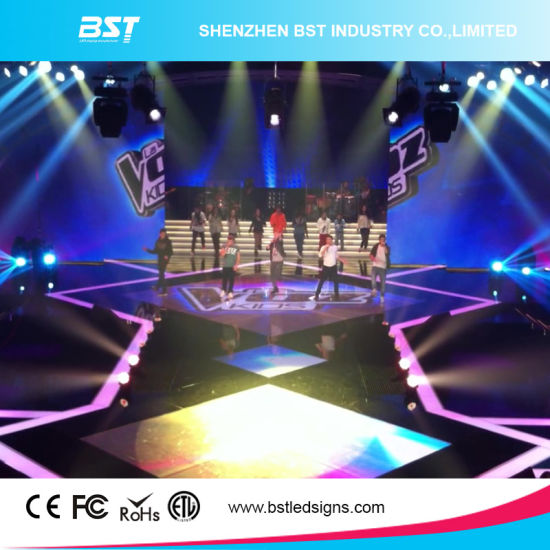 P4.8mm Indoor Full Color Rental LED Screen for Events Show pictures & photos