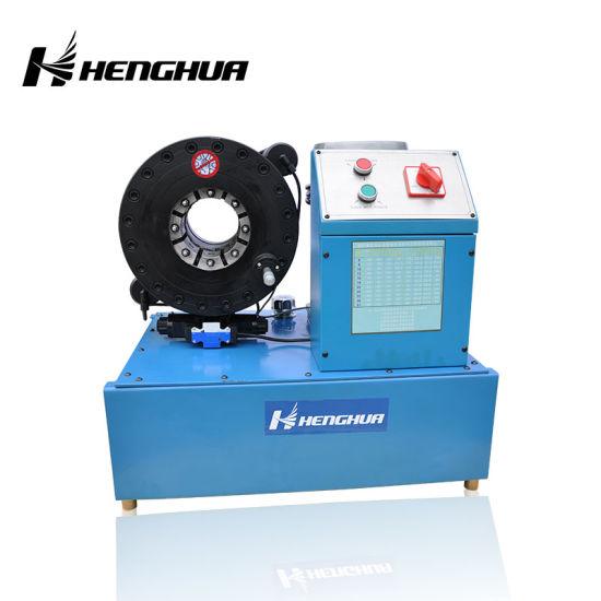 China Automatic Finn Power Hydraulic Hose Crimper Tool 6