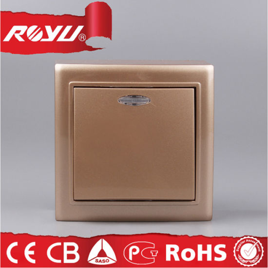 Colourful 1 Gang Surface Mounting Switch
