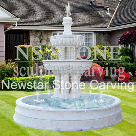 Stone Outdoor Commercial Water (wall) Fountains For Gardens For  Sale Nsmf1701