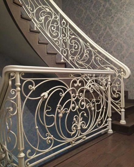 Decorative Wrought Iron Staircase Railings Spiral Staircase Railings