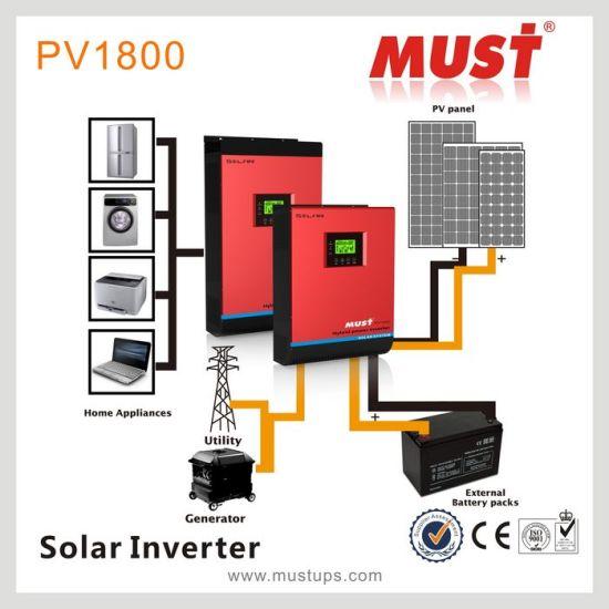 China 5kva 4000w Best Hybrid Solar Inverter 4000w Solar
