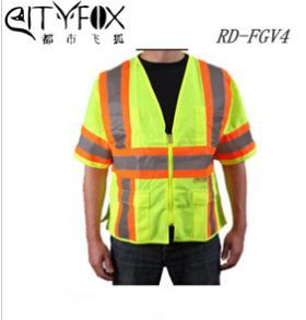 Wholesale High Quality Traffic Police Reflective Vest pictures & photos