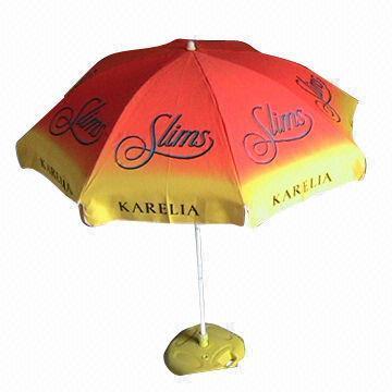 Beach Umbrella with Customized Logo, Advertising Umbrella (BR-BU-125)