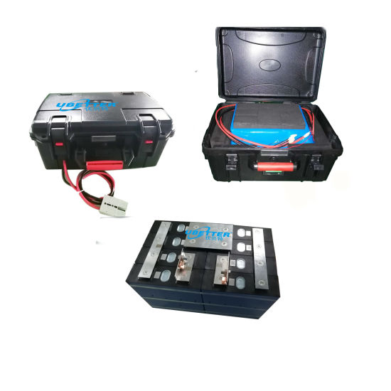 Customize Portable Li-ion/Lithium/ LiFePO4 Battery Pack OEM 12V 40ah 50ah 100ah 150ah 150ah for E-Vehicle Outdoor Battery