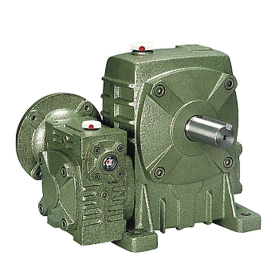 Wp Series Small Speed Reducers Gearbox for Building Equipment