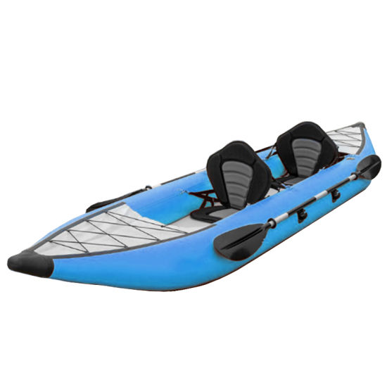 1000d Reinforced Pontoon Kayaks PVC Drop Stitch Floor Floating Tube Inflatable Kayak