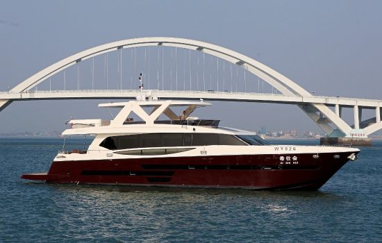 Aquitalia 95FT Luxury Motor Yacht Flybridge