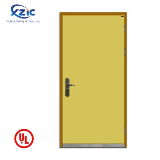 Normal Fire Rated Door 1 Hour Metal Frame