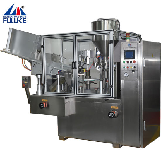 Pharmaceutical Ointment Cosmetic Tube Filling and Sealing Machine