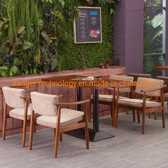 Fashion Coffee Bar Milk Tea Shop Dessert Western Restaurant to Discuss Leisure Reception Desk Chair Combination Sofa