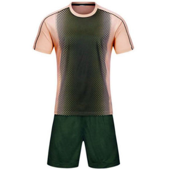 Low MOQ Customization Offer for Soccer Jersey with Numbers on Back for Competition