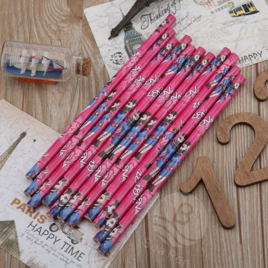 Kids Pencils Custom Logo for Promotional Gift pictures & photos