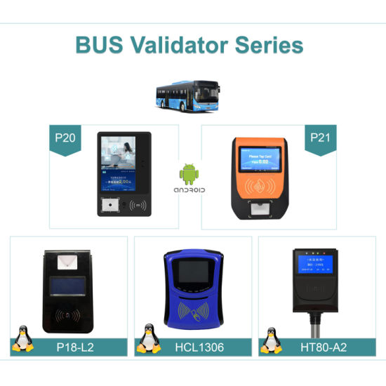 China Electronic NFC Ticket Payment Machine Android Linux