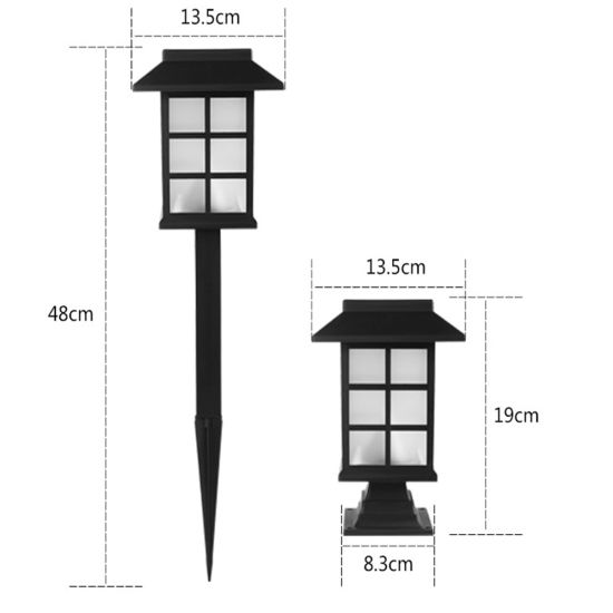 Solar Deck Lights Solar Post Cap Lights OEM/ODM Zhejiang Ningbo CE Hot Sale