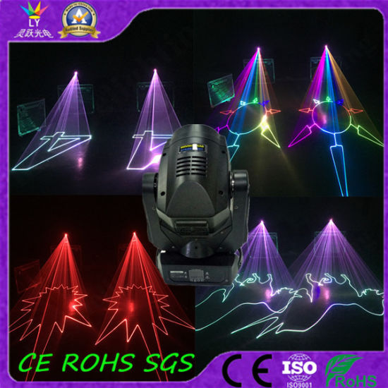 RGB 4W DMX Moving Head Disco DJ Laser Light pictures & photos