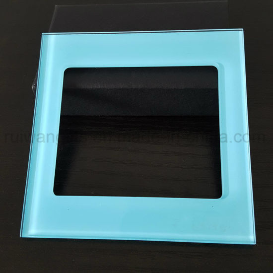 3mm Tempered Glass Switch Face Plate