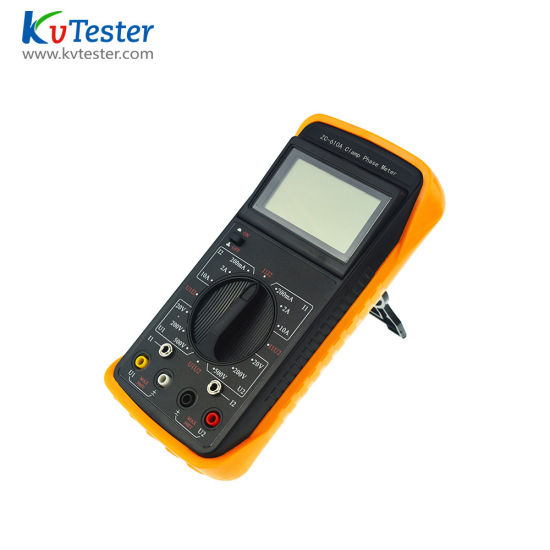 Kvtester Zc-610A Digital Small AC DC Power Clamp Meter