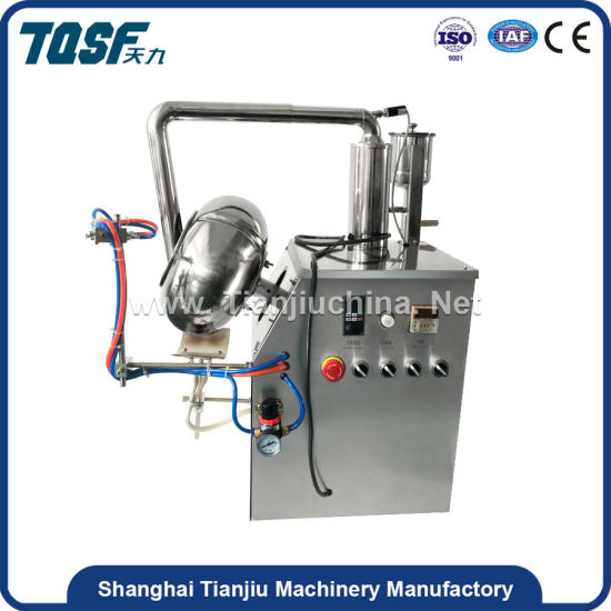 Y-400 Beans Edible Seeds Heating and Rolling Coating Machine Pharmaceutical Equipment pictures & photos