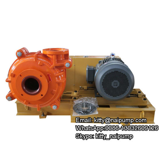 6/4 Dah Abrasive Slurry Pump for Pumping Bentonite Slurry