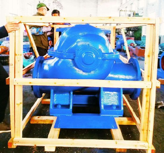 Split Casing Sewage Centrifugal Submersible Water Pump pictures & photos