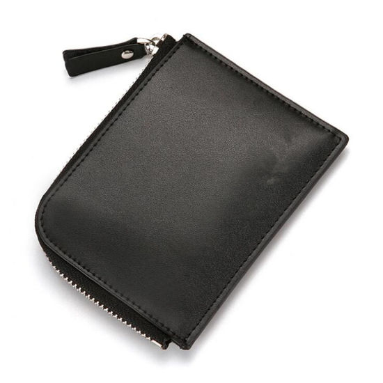 Commuter Pass Cases with Lanyard ID Card Badge Holder Leather Card Holder with Zipper Coin Pocket