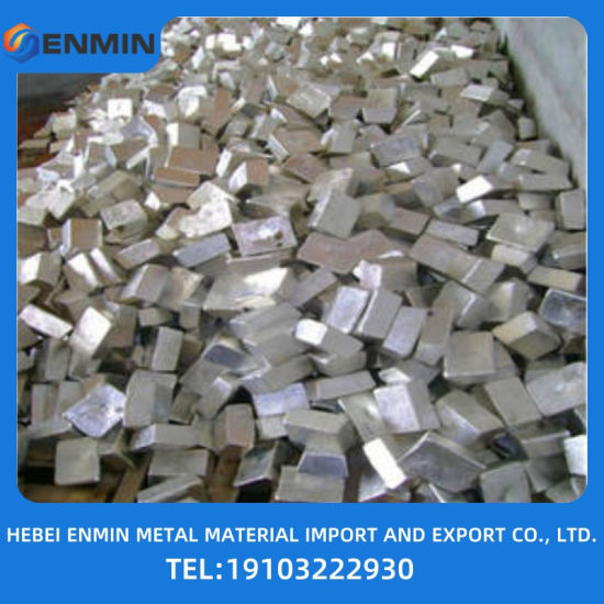The Lowest Pice Zinc Alloy Ingot China Manufacture Provide
