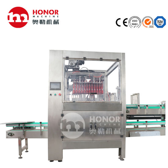 Automatic Continuous Packaging Machine for Glass Bottle, Pet Bottle, Easy Pull Can, Large Bottle Molding Board