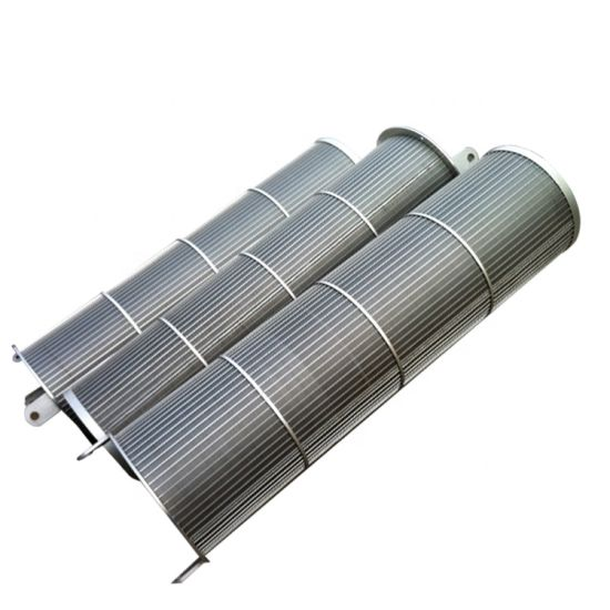 AISI 304 316 Stainless Steel Wedge Wire Screen Filter for Pump Equipment