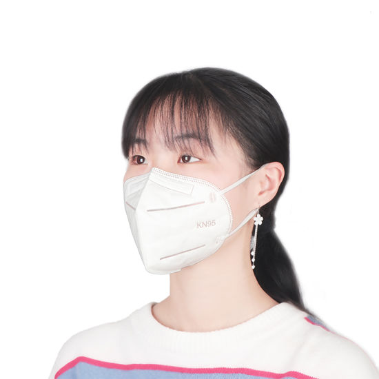 Stock Fast Delivery 5-Ply Disposable Mouth Protection N95 FFP2 Face Respirator KN95 Masks for Air Pollution Dust Anti Virus